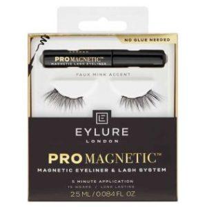Faux Mink Accent - Eylure - Pestañas postizas magnéticas con eyeliner Pro Magnetic.