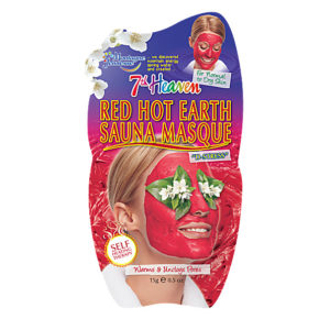 Mascarilla red hot earth sauna arcilla roja 7th heaven 3