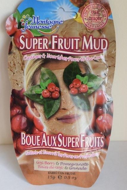 Montagne Jeunesse Mascarilla Super Fruit Mud Barro de Bayas de Goji – 15 ml